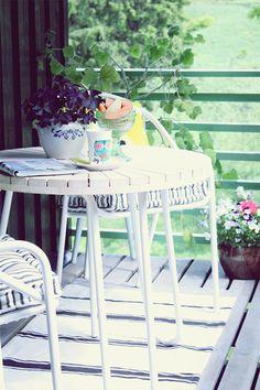 Norske interiørblogger  - patio