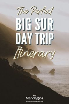 Ready to plan the best day trip to Big Sur State Park? This stunning park on the California Coast is an easy day trip from San Francisco - perfect for adventure lovers! Save this post for inspiration to McWay Falls | Pfeiffer Beach | Carmel By The Sea |Bixby Creek Bridge #california #pacificcoasthighway #Bigsur #Roadtrip #pacificocean #hiking #camping #sunrise #travelcalifornia #travel #USAtravel #usa #photography #sunset #PNW #pacificnorthwest