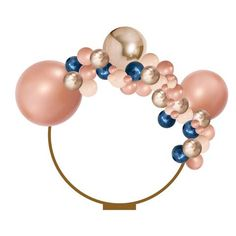 This Balloon Garland kitis a 3 meter balloon garland that can be hung up, suspended...