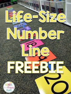 Free Number Line Activities Your Students Will Love | School Is a Happy Place | Bloglovin'