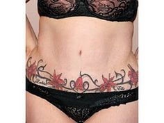 floral/vine tattoo to cover tummy tuck scar Tummy Tuck Scar Tattoo, Tummy Tuck Scars, Tattoos To Cover Scars, Cover Tattoo, Tattoo Art, Vine Tattoos, Hot Tattoos, Candy Tattoo, Scar Cover Up