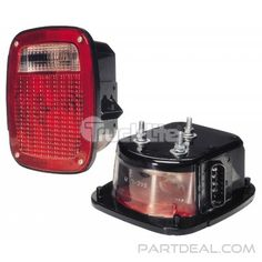 Signal-Stat 5316Y101 1661281C91 Navistar Replacement Multi-Function Curbside Light with License Light