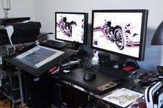 My Desk by redjuice999.deviantart.com on @DeviantArt