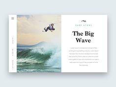The Big Wave by Rocco Gallo