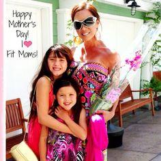 Happy Mother's Day, Fit Moms! #fitmomtv #kiana #love #me #cute #flexappeal #mothersday - @kiana_tom_flexappeal_fitmomtv- #webstagram