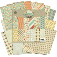 love these papers especially the zigzag, Pink Paislee Prairie Hill