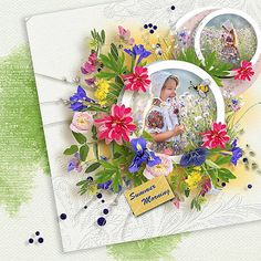 Summer morning - mini kit by DitaB Designs Play With Templates (Jasmin-Olya Designs) photo Irina Nedyalko use with permission Page Design, Beautiful Images, Poppies, Colours, Templates, Mini, Frame, Summer, Scrapbooking