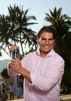 Rafael Nadal @ Bacardi Limited Champions Drinking Responsibly even in Acapulco, Mexico.