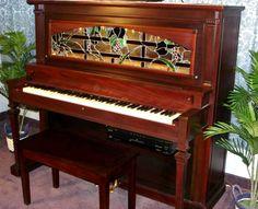 I love this McPhail 1889 Antique Upright piano!!! Website: https://pianosnpianos.com/pianos-for-sale/player-pianos/restored-digital-player-uprights/