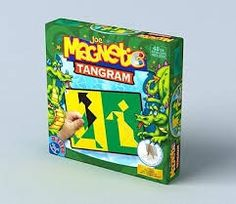 dtoys - magnetic tangram