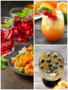 Shake things up with a Mai Tai Mocktail that the whole family can enjoy! This drink pairs great with Orange Chicken from the P. Chang's Home Menu. Easy Mocktails, Chocolate Peanut Butter Cupcakes, Alcohol Drink Recipes, Mai Tai, Great Appetizers, Love Eat, Orange Chicken, Frozen Meals, Asian Cooking
