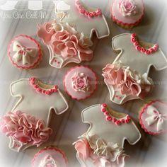"""#prettyinpink #tutus  #decoratedcookies #decoratedcustomcookies #customcookies #customdecoratedcookies #cookielove #cookieart #cookiegeek #edibleart #sugarart #babyshower #babyshowercookies"" Photo taken by @youcancallmesweetie on Instagram, pinned via the InstaPin iOS App! http://www.instapinapp.com (01/24/2015)"
