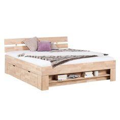 Lit en bois massif EosWOOD (avec 4 tiroirs de lit)