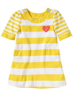 Where your heart on your sleeve... or your dress. http://www.ivillage.com/cute-spring-dresses-little-girls/6-b-437288#532628