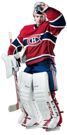Carey Price - Canadiens de Montréal Go Habs Go ! Goalie Pads, Hockey Goalie, Hockey Games, Hockey Mom, Goalie Gear, Hockey Stuff, Montreal Canadiens, Mtl Canadiens, Sports Picks
