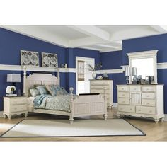 Found it at Wayfair - Hillsdale Furniture Pine Island Four Poster 5 Piece Bedroom Collection