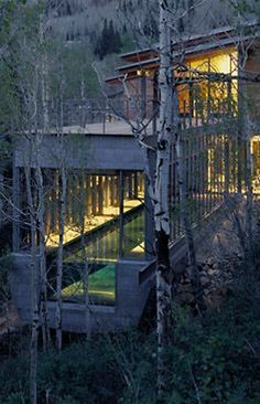 ferrar residence, park city, utah/bohlin cywinski jackson