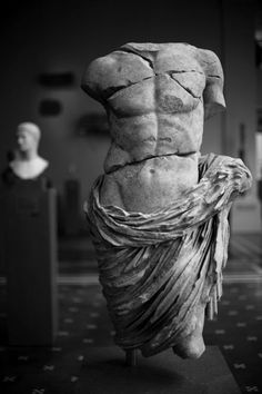 Marble statue of a member of the imperial family, Metropolitan Museum of Art NY. Date: 27 B. 68 Dimensions: H. Greek Statues, Angel Statues, Bild Tattoos, Art Antique, Greek Art, Classical Art, Ancient Art, Ancient Greek Sculpture, Metropolitan Museum