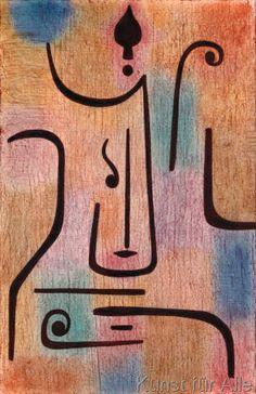 Paul+Klee+-+Der+Erzengel