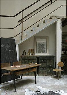★ Miluccia ◆: Un loft entre récup et design.
