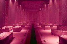 SS17 FW - Gucci's pink boudoir @ Ex Scalo Farini, Milan