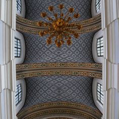 Ceilings of the cathedral in Vitebsk, Belarus by Dmitri Korobtsov