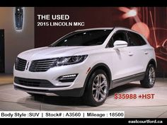 Drive with #Lincoln #MKC. Get More Info & Order now..http://bit.ly/21FlnsE