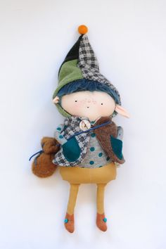 Skip the Wee Elf // Springtime Toy // Woodland by BoolahBaguette