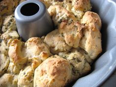 Savory Herb and Olive Oil Monkey Bread. Made with Laurie Sadowski's Versatile Gluten-Free Yeast Dough. Free of gluten and all top allergens.