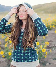 Hampton Hoodie sewing pattern – Go To Patterns
