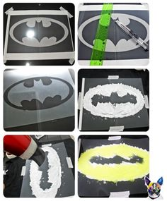making your own batman t-shirt