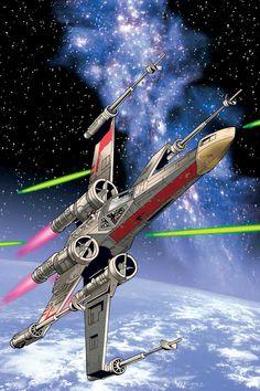 X-Wing... nice . . .