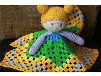 Amigurumi,gehäkelte Schnuffeltuch Handarbeit.handmade