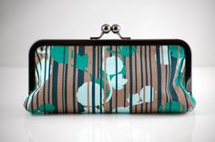 yay, someone made this awesome clutch from my fabric!