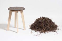 Zostera Stool by Carolin Peitsch