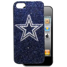 """Checkout our #LicensedGear products FREE SHIPPING + 10% OFF Coupon Code """"Official"""" Dallas Cowboys Crystal Snap on Case fits iPhone 5 - Officially licensed NFL product Licensee: Siskiyou Buckle Fits iPhone 5/5S phones Snap on protective case Shimmer and shine your love of the game with this sparkling case Dallas Cowboys logo - Price: $20.00. Buy now at https://officiallylicensedgear.com/dallas-cowboys-crystal-snap-on-case-fits-iphone-5-f5gl055b"""