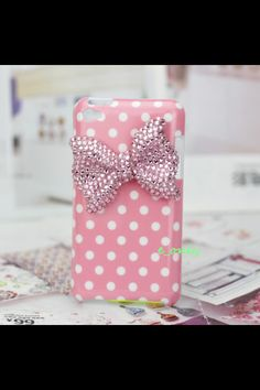 Pink Polka Dot iPod Touch 4th Generation Case