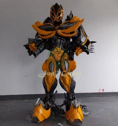 how to make transformers bumblebee costume - Google Search