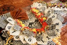 This beautiful traditional lei is from Bau Island - Fiji by the SiSi business