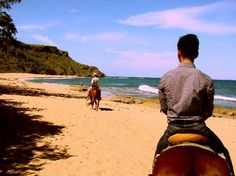 Puerto Rico Vacation 2013 1. Tropical Trail Rides: Beach Ride YES!