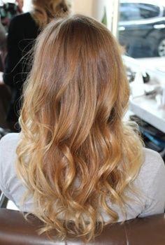 Long hair, curls, light brown blondish brown | Box No. 216: sunkist blonde back | best stuff