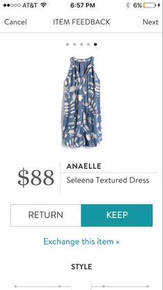 Anaelle Seleena Textured dress. I love Stitch Fix! A personalized styling service and it's amazing!! Simply fill out a style profile with sizing and preferences. Then your very own stylist selects 5 pieces to send to you to try out at home. Keep what you love and return what you don't. Only a $20 fee which is also applied to anything you keep. Plus, if you keep all 5 pieces you get 25% off! Free shipping both ways. Schedule your first fix using the link below! #stitchfix @stitchfix…