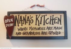 Funny Nana's Kitchen – Where Memories Are Made and Grandkids Are ...