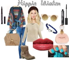 """""""Hippie Winter"""" by reemtaha on Polyvore"""