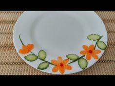 Vegetable Plate Decoration (03) || Vietnam Food Channel - YouTube