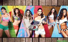 Mariasol, Vanessa, Mariangela, Karen, Rebeca y Gina Holguin TDBook 2015 [Preview] | FamosasMex