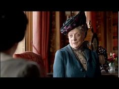 A Collection of the Cleverly Cutting Quips Uttered by the Dowager Countess on Downton Abbey