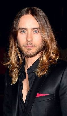 """Jared Leto, nominated for Best Actor in a Supporting Role for """"Dallas Buyers Club."""" So not fair that his hair looks better than mine ever did, ever will Jared Leto, Most Beautiful Man, Gorgeous Men, Pretty People, Beautiful People, Shannon Leto, Oscar Winners, Raining Men, Best Actor"""