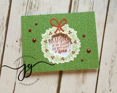 CTMH Technique Blog Hop - Thrilled About Thin Cuts - Janna Gray, Close To My Heart Independent Consultant