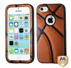 APPLE iPhone 5C Basketball-Sports Collection Black VERGE Hybrid Protector Cover